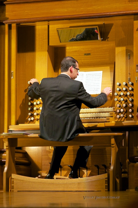 Barossa Pipe Organ Grand openingDominic Perissinotto