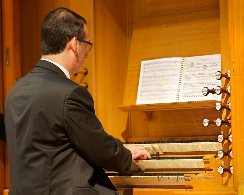 Barossa Pipe Organ Grand opening Dominic Perissinotto