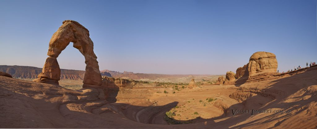 Delicate Arch Panorama in Arches National Park